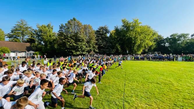 2.200 Aalsterse kinderen op interscholenwedstrijd veldloop in stadspark