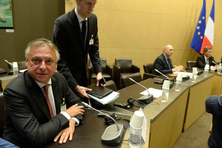 Patrick Dewael (Open Vld) is voorzitter van de parlementaire onderzoekscommissie. Beeld Photo News