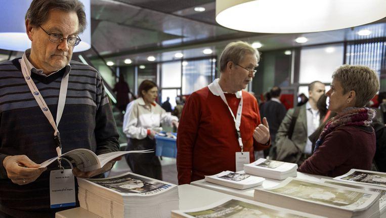 Bijeenkomst voor werkloze 55-plussers in Utrecht Beeld anp