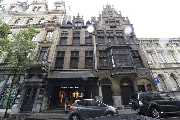 De Kipdorpvest, waar ook de voormalige Ancienne Belgique gevestigd was.