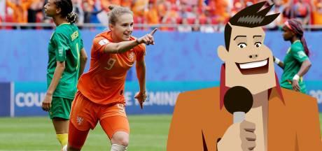 Quiz | Hoe vierde Miedema haar goal waarmee ze topscorer aller tijden Oranje werd?