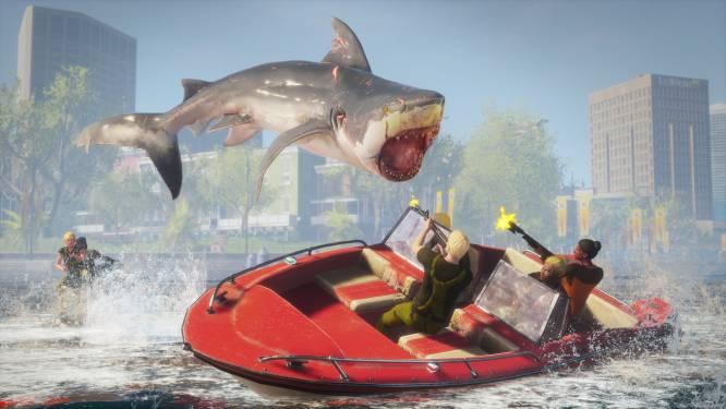 GAMEREVIEW 'Maneater' brengt moorddadige pret à la 'Carmageddon' terug
