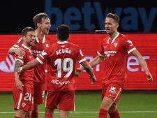 Sevilla maakt na invalbeurt Luuk de Jong achterstand goed bij Celta
