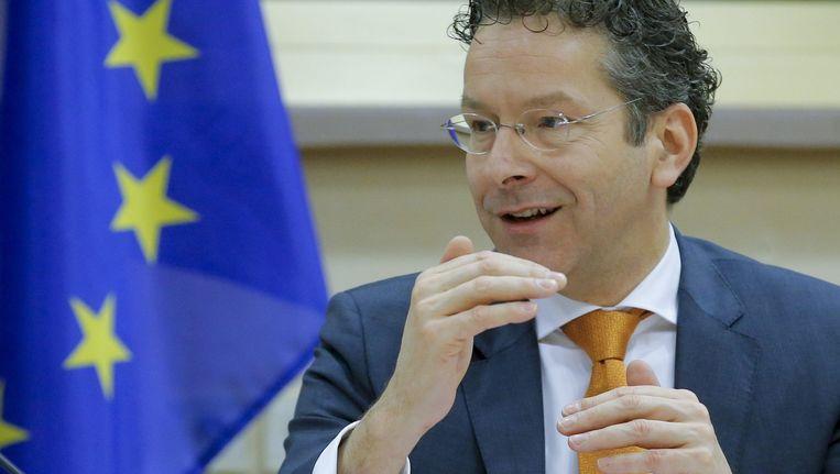Minister van financiën en voorzitter van de Eurogroep Jeroen Dijsselbloem. Beeld epa