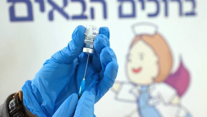 Helft van de Israëlische bevolking al zeker één keer gevaccineerd