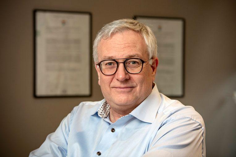 Professor Dirk Devroey. Beeld Photo News