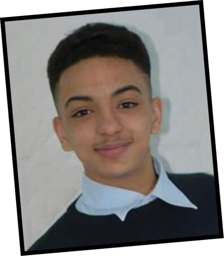 Mehdi Bouda (17). Zijn familie wil weten wat er met hem gebeurd is toen hij stierf. Beeld RV