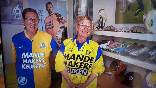 Joke Bleijenberg (l) en Annemieke Kerstens.