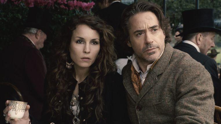 Robert Downey Jr. als Sherlock Holmes in 'Sherlock Holmes: A Game of Shadows'. Beeld AP