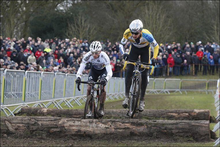 Wellens en Nys vochten een ouderwetse strijd uit. Beeld PHOTO_NEWS