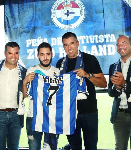 Fans onthalen Roy Makaay bij oprichting Nederlandse fanclub Deportivo: 'Een belangrijk deel van mijn leven'