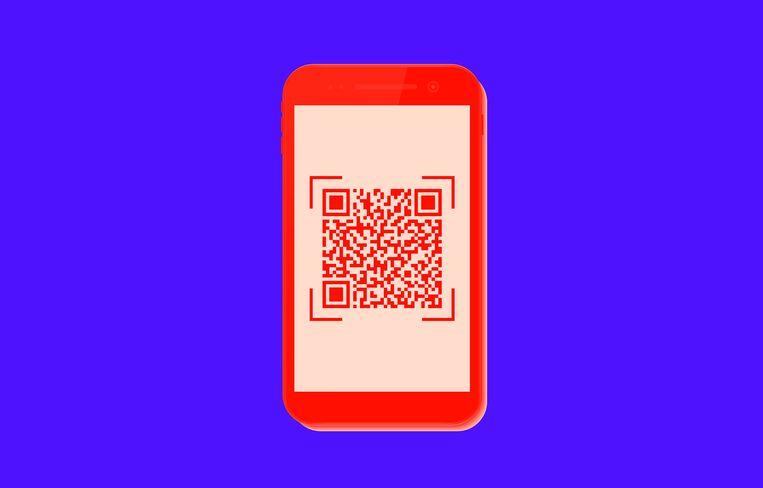 Binnen de EU is na heel veel vergaderen afgesproken dat de QR-code die je met de app kunt maken als 'toegangsbewijs' wordt geaccepteerd. Beeld Getty