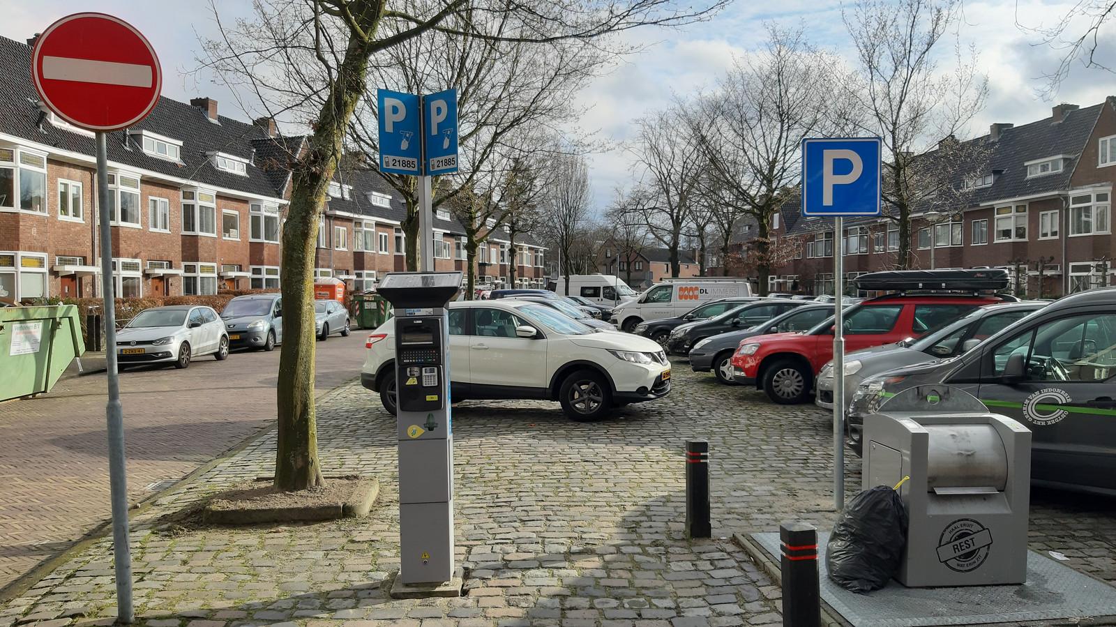Betaald parkeren geldt sinds 1 december in wijk Zandberg in Breda.