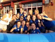 Zwembadje in plaats van huldiging voor net-niet-kampioenen in Groesbeek