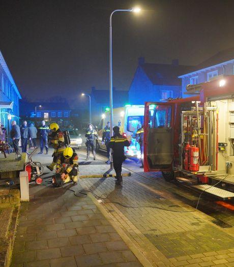 Woningbrand in Nijmegen, bewoners opgevangen door buren