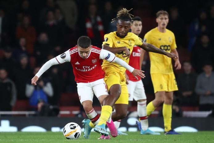 Tout alllait un peu trop vite pour le Standard à Arsenal.