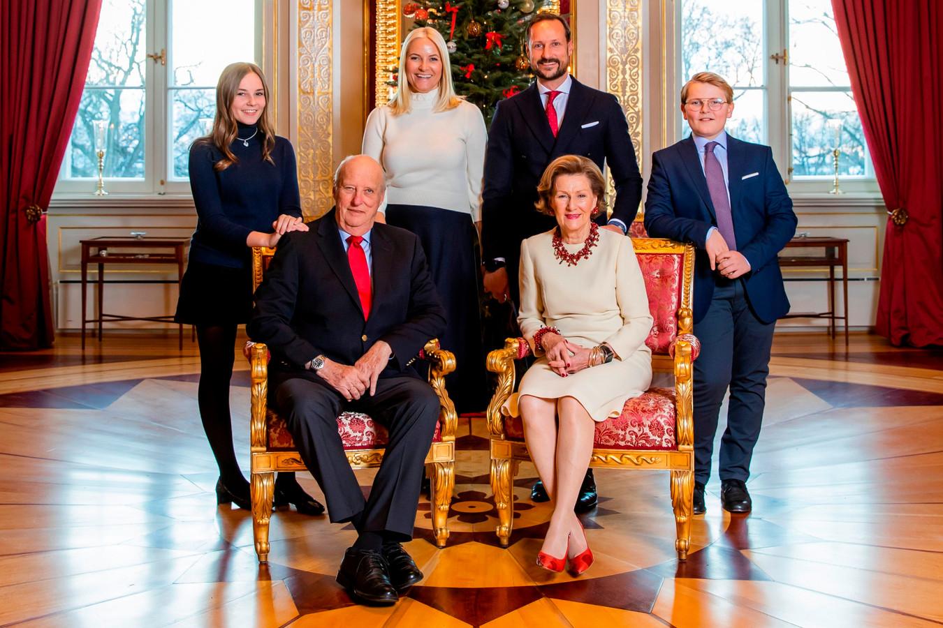 La famile royale norvégienne