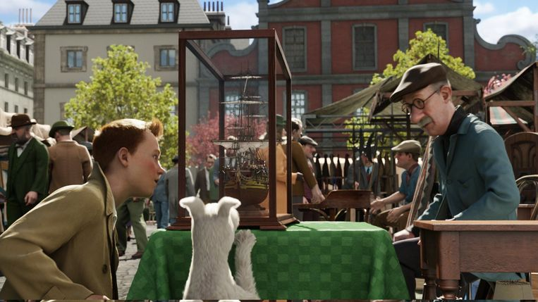 The Adventures of Tintin: Secret of the Unicorn.  Beeld Photo News