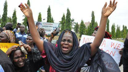 """President Nigeria: """"We hebben geen idee waar de schoolmeisjes zijn"""""""