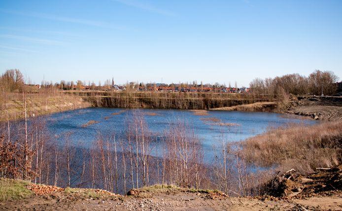 In deze groeve werd tot 2012 klei ontgonnen.