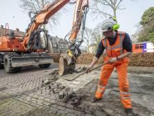 Grotestraat Borne langdurig dicht: nieuw riool en bestrating