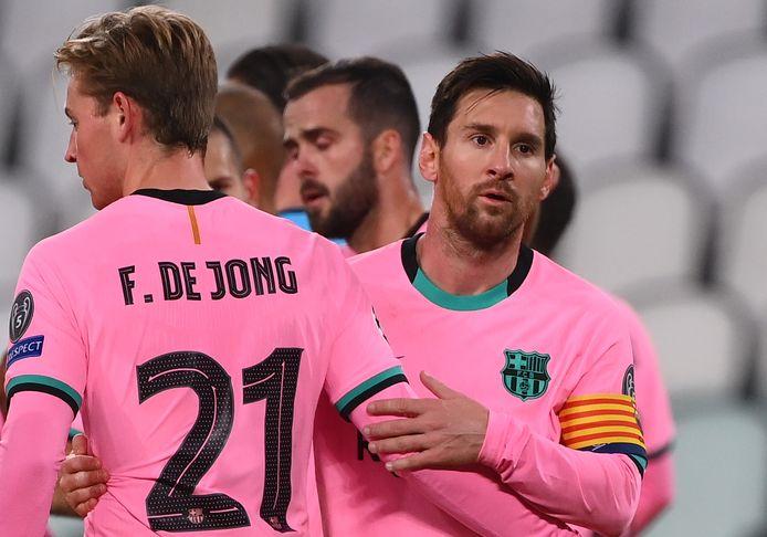 Lionel Messi mist het duel met Cornella wegens een schorsing, Frenkie de Jong krijgt rust.