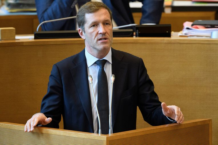 Waals minister-president Paul Magnette (PS). Beeld Photo News