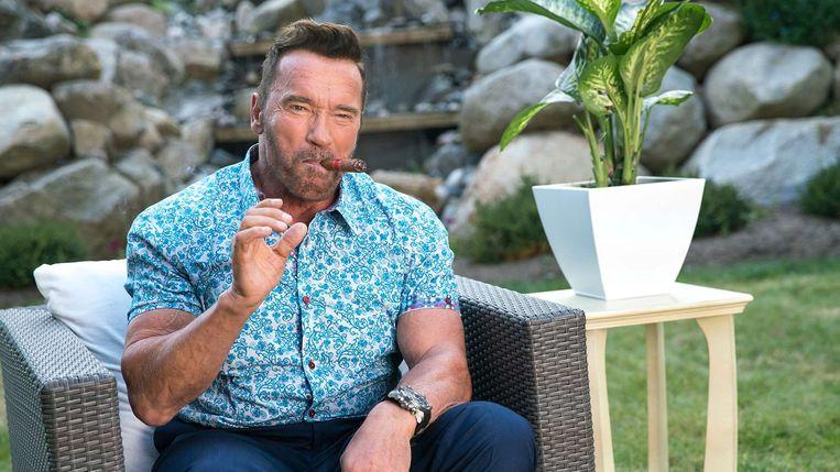 Schwarzenegger in 'Killing Gunther' Beeld Netflix