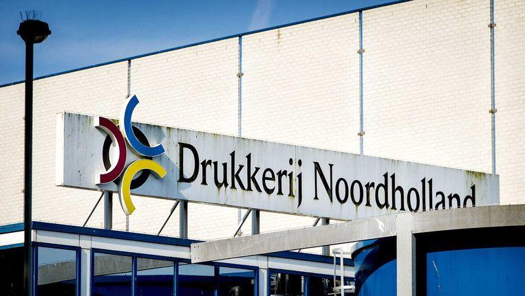 Drukkerij Noordholland in Alkmaar gaat dicht.