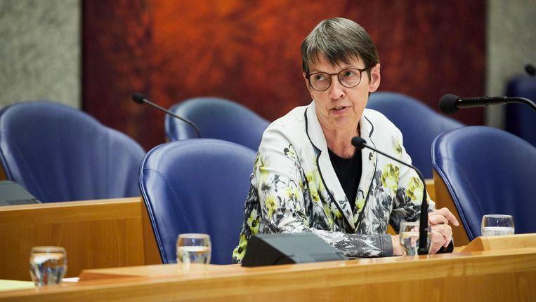 Staatssecretaris Jetta Klijnsma sluit Amsterdam uit voor een landelijke proefregeling. Beeld anp