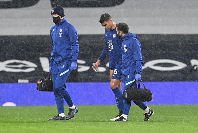 Thiago Silva doet niet mee tegen Atlético Madrid.