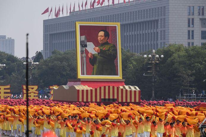Oprichter van de Volksrepubliek Mao Zedong.