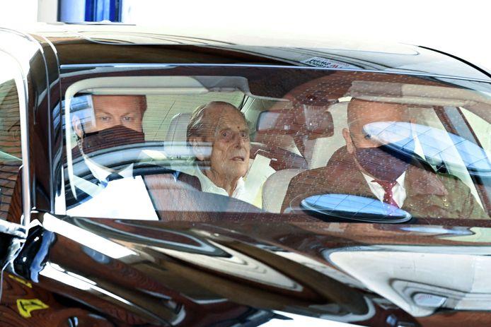 Le Prince Philip, 99 ans, a quitté l'hôpital.