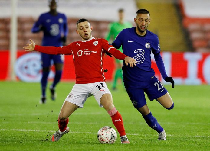 Barnsley speelde op 11 februari een goede FA Cup-wedstrijd tegen Chelsea, maar verloor uiteindelijk met 0-1.