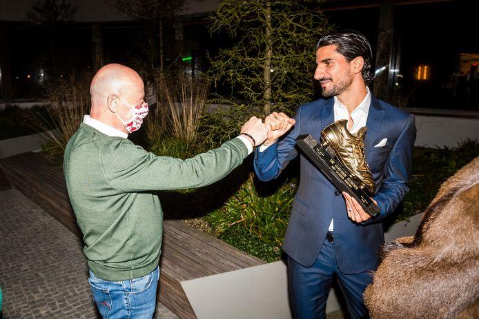 Felicitaties van Luciano D'Onofrio, sportief directeur van Antwerp.