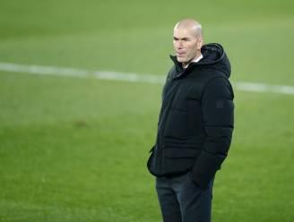 """Real-coach Zidane in quarantaine na contact met persoon die besmet bleek met corona"""