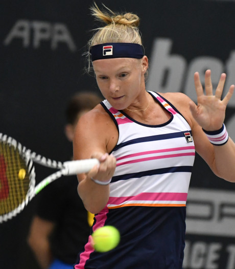 Bertens houdt zicht op WTA Finals na moeizame zege in Moskou