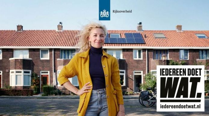De overheid lanceerde de klimaatcampagne 'Iedereen doet wat' op 9 september 2019.
