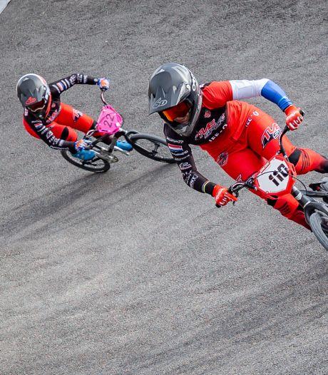 BMX'ster Merle van Benthem grijpt naast ticket voor Spelen