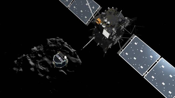 Communicatie met komeetlander Philae voorgoed verbroken