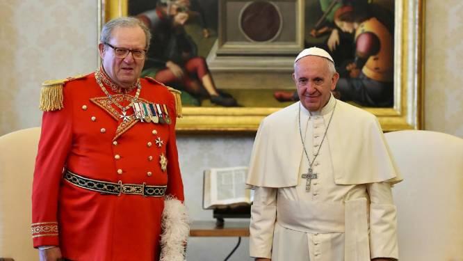 Ex-grootmeester Orde van Malta bij verkiezingen in Rome ongenood aanwezig