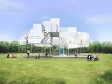 Geen festival, maar wél waterpaviljoen met waterval van 6 meter en een audiotour door Oosterflank