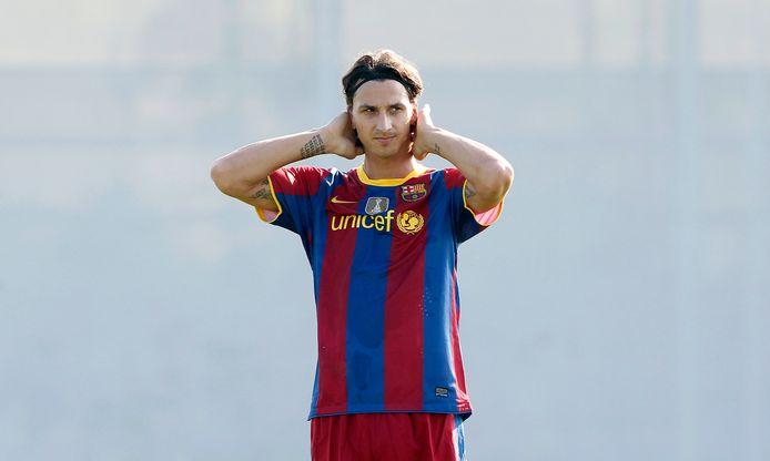 Ibrahimovic speelde eerder voor Barcelona in Spanje.