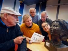 Was de buste van Beatrix nou zo lelijk dat niemand 'm wilde hebben?