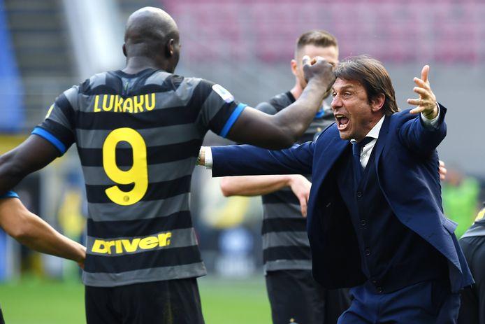 Romelu Lukaku est heureux à l'Inter et convaincu qu'Antonio Conte restera.