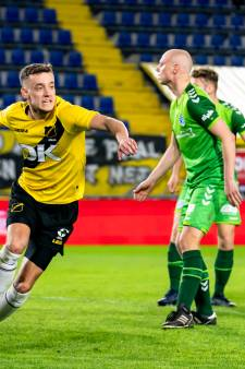 De Graafschap incasseert een dreun in kraker bij NAC Breda ondanks goal van Seuntjens