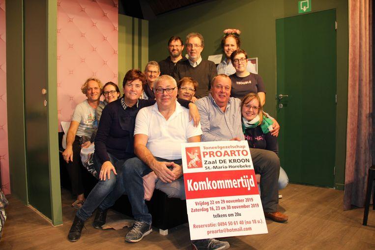 Proarto speelt 'Komkommertijd' in zaal De Kroon.