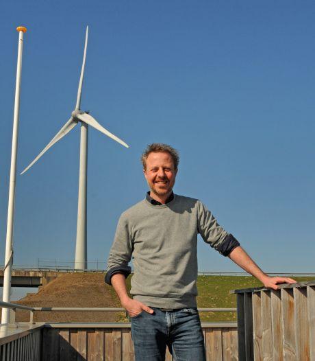 Pionier Tijmen Keesmaat verlaat Windpark Krammer: 'Een gekkere plek voor windmolens kon ik niet bedenken'