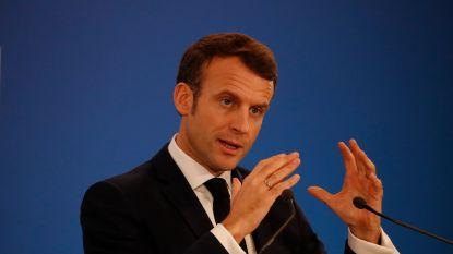 Macron vergadert zondag met ministers over toekomst pensioenen