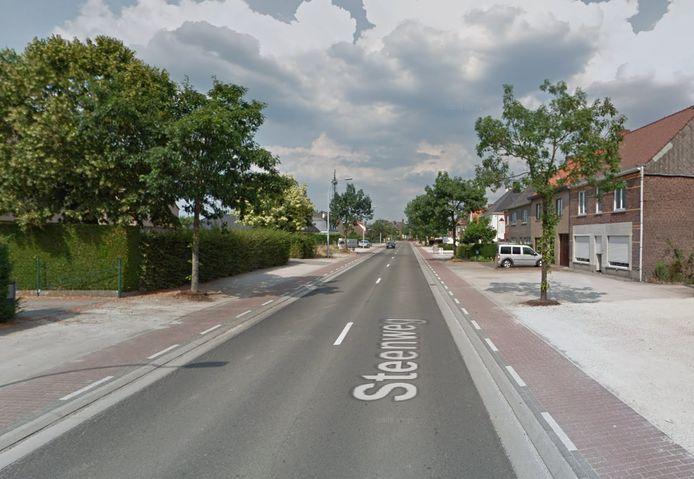 De Steenweg in Nazareth